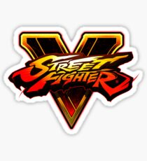 Street Fighter V Sticker