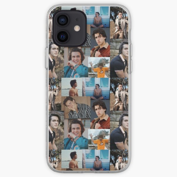 Collage of Charlie Gillespie  iPhone Soft Case