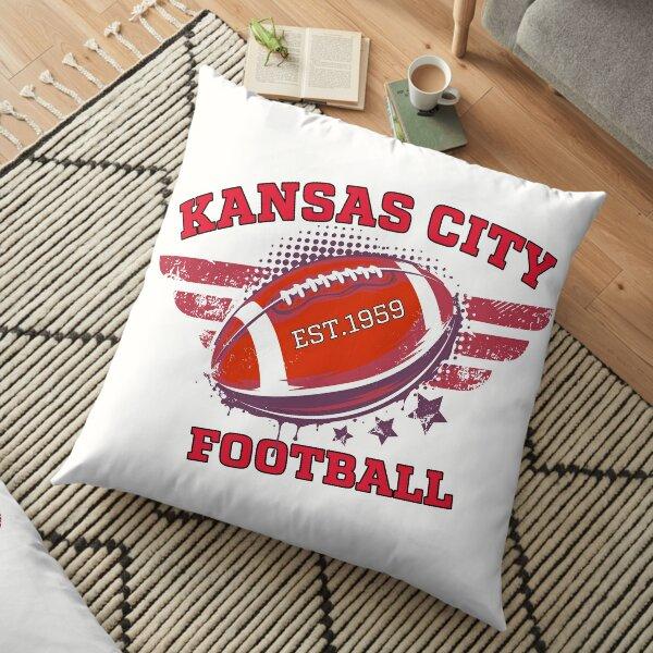 Kansas City Football  Floor Pillow