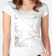 In meinen Veinen NO2 Tailliertes Rundhals-Shirt