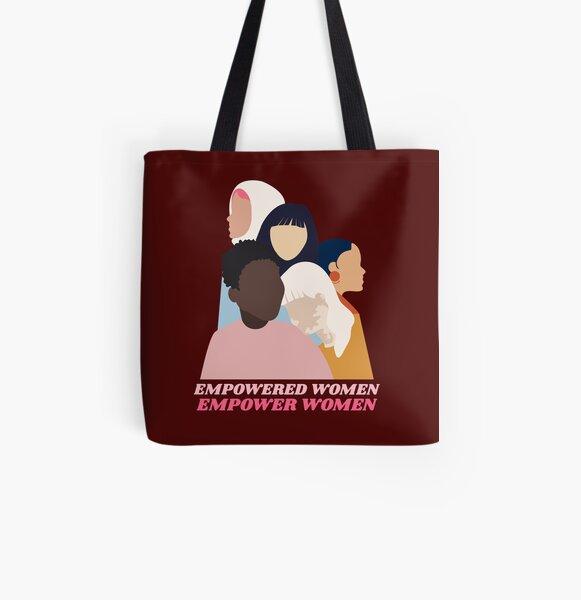 Reusable Shopping Bag Gift for Her Shopping Bags Stylish Tote Bag Pop Art Red Tote Bag Woman Illustration Art Print Tote Bag Red Bag