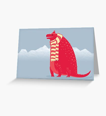 Cotylorhynchus is Cozy Greeting Card
