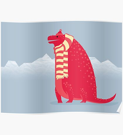 Cotylorhynchus is Cozy Poster