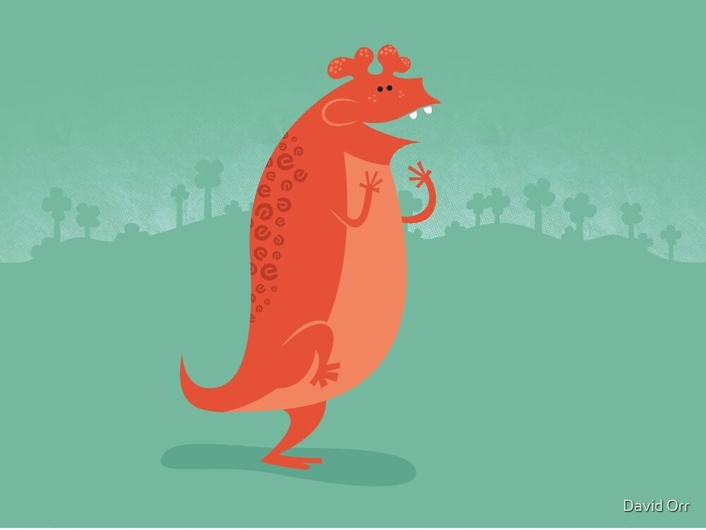 Estemmenosuchus is Ecstatic by David Orr