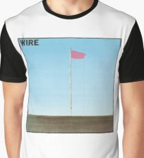 Wire - Pink Flag Shirt Graphic T-Shirt
