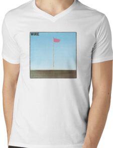Wire - Pink Flag Shirt Mens V-Neck T-Shirt