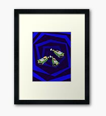 Day of the Tentacle - Time Machine  Framed Print