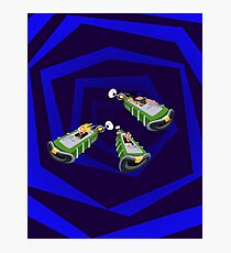 Day of the Tentacle - Time Machine  Photographic Print