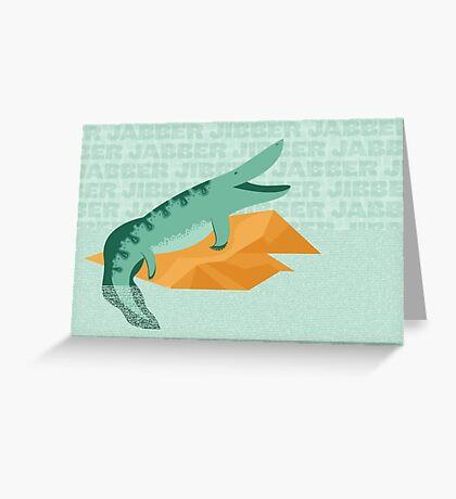Tiktaalik is Talkative Greeting Card
