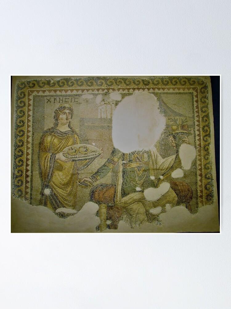 Alternate view of Mosaic of Chresis Poster