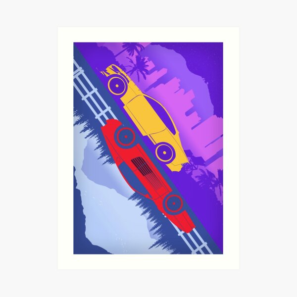 One Special Game Need For Speed Art Print