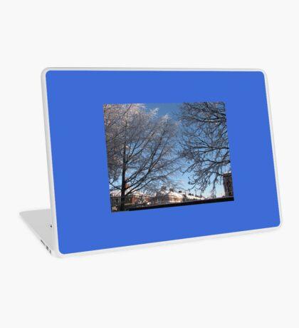 Winter Sonnenaufgang Laptop Folie