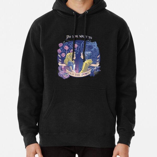 """Coraline & Alice """"Open the door"""" T-Shirt Pullover Hoodie"""