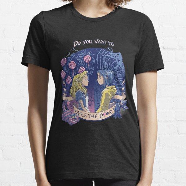 """Camiseta """"Abre la puerta"""" de Coraline & Alice Camiseta esencial"""
