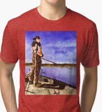 The Reel Expert Tri-blend T-Shirt