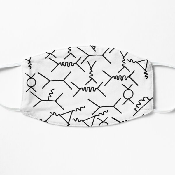 Feynman diagrams  Flat Mask