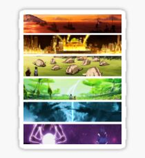 Korra Spirits (Any Color!) Sticker