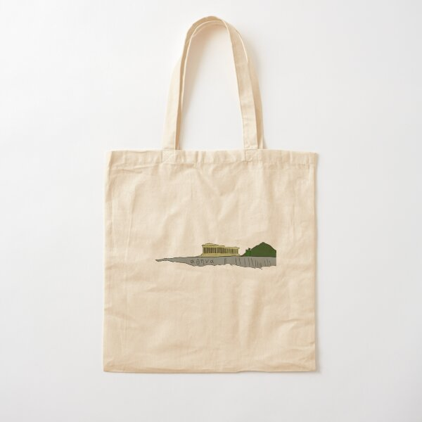 Athens - The Parthenon Cotton Tote Bag