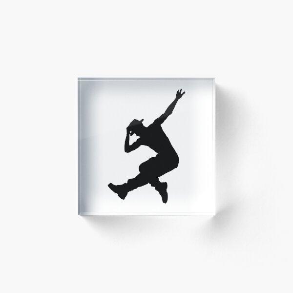 Street Dance Hip Hop Dance Break Dance Gift Acrylic Block