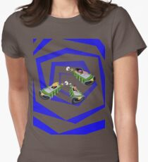 Day of the Tentacle - Time Machine  Womens Fitted T-Shirt