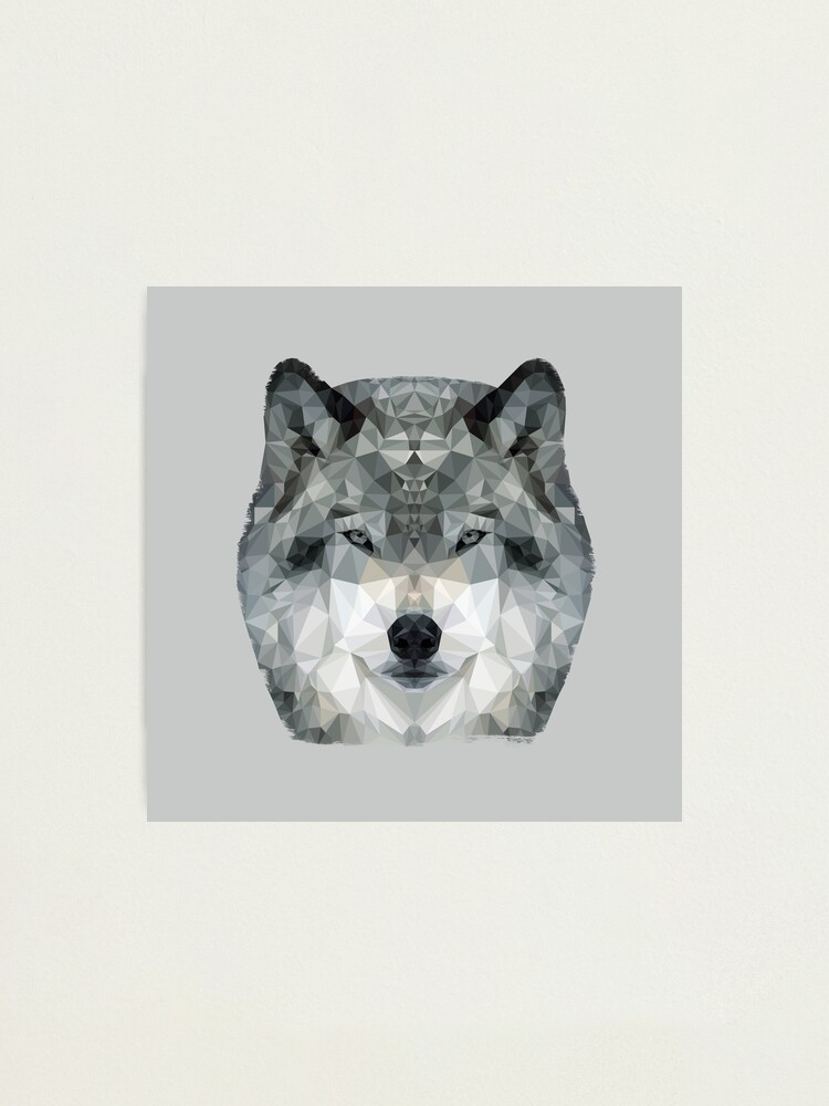 Alternate view of The Wolf Photographic Print