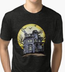 Scary House Tri-blend T-Shirt