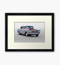 1956 Chevrolet 'All Business' Coupe II Framed Print