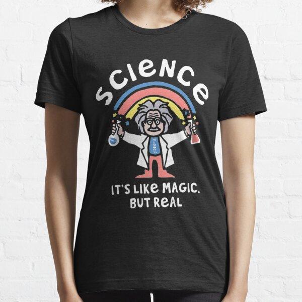 Camiseta La ciencia es como magia pero real Camiseta esencial