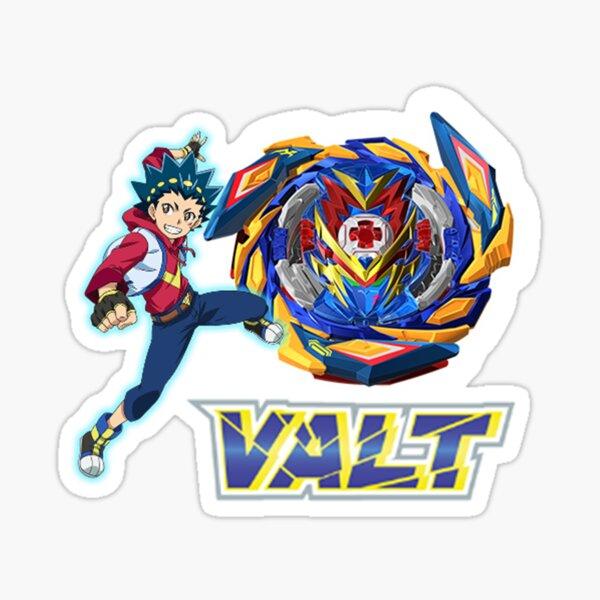 Beyblade Burst Surge Valt Aoi Sticker