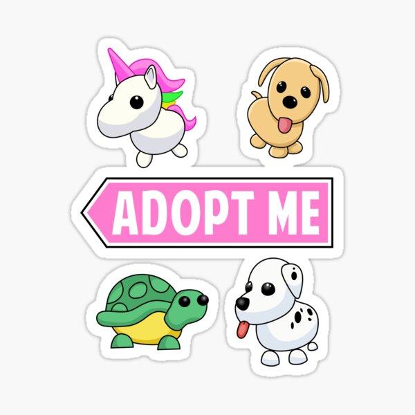 Puppy cute adopt Sticker