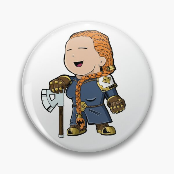 Hela the Dwarf Pin