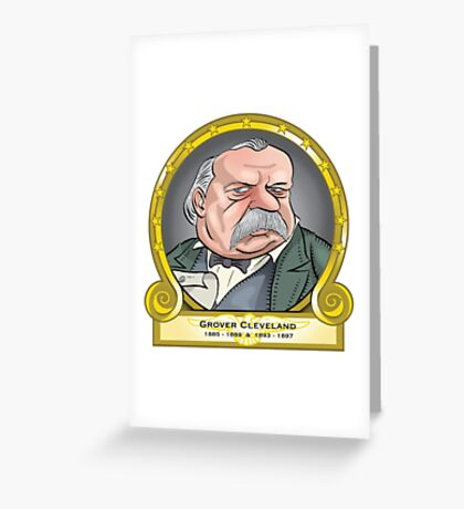 President Grover Cleveland Greeting Card