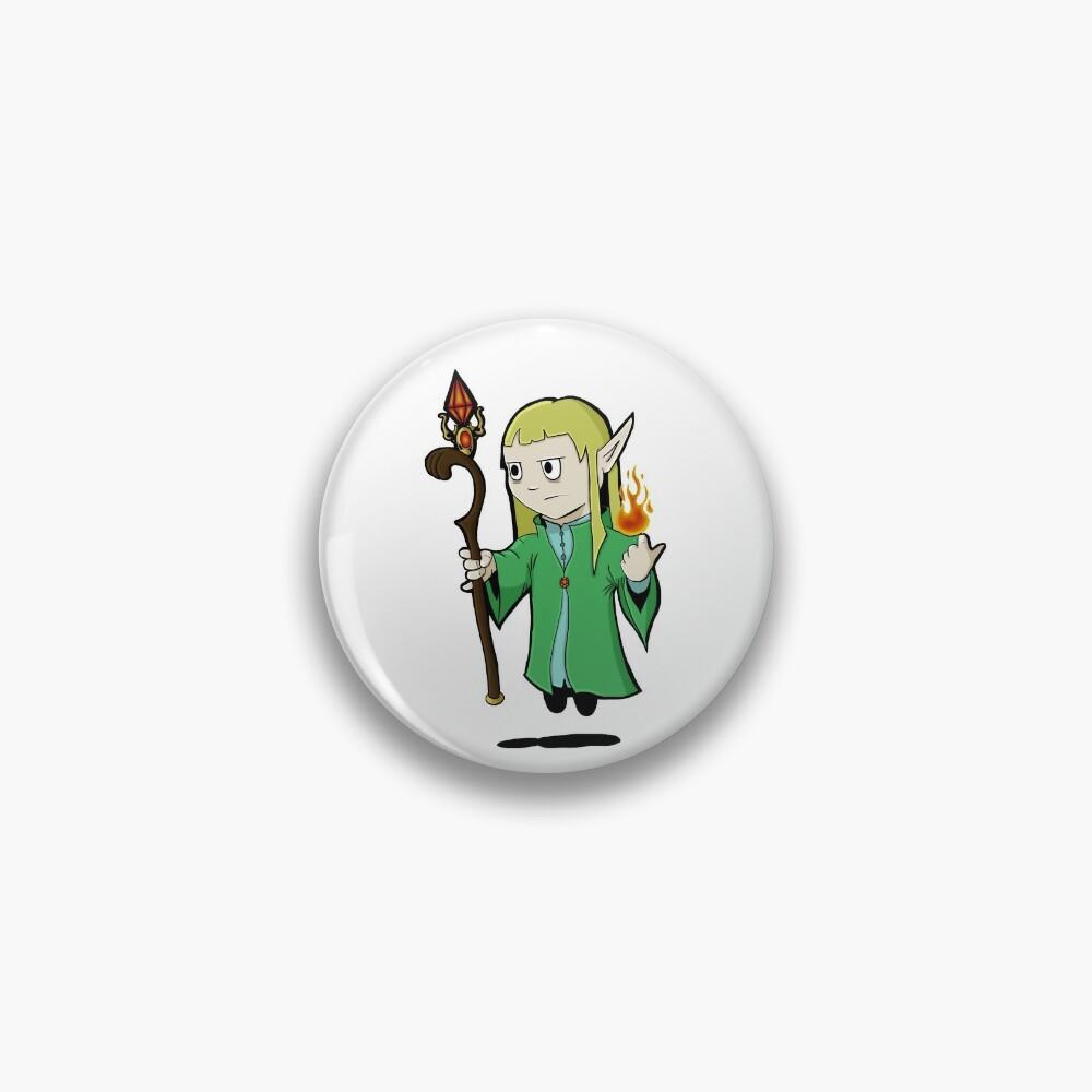 Emyr the Elf Pin