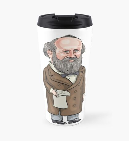 President James Garfield Travel Mug