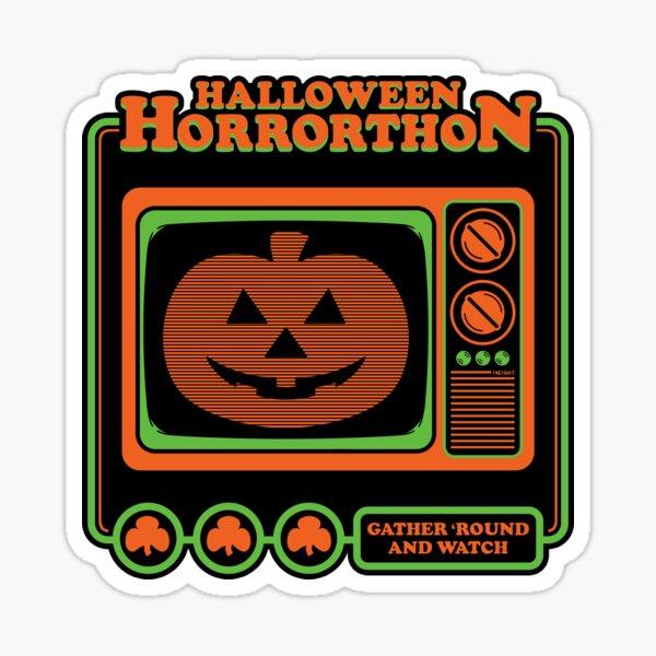 The Magic Pumpkin - Horrorthon Classic Sticker