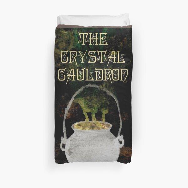 The Crystal Cauldron- Dark Duvet Cover