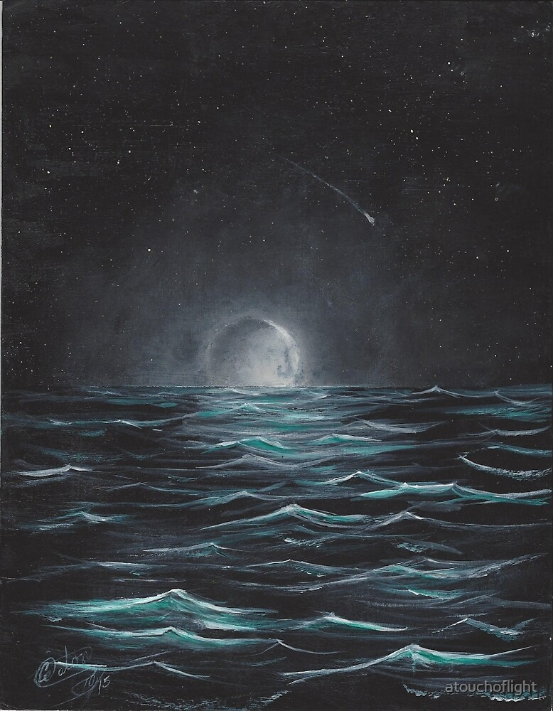 """""""Moonlight"""" by Curtis Caton by atouchoflight"""