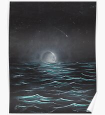 """""""Moonlight"""" by Curtis Caton Poster"""