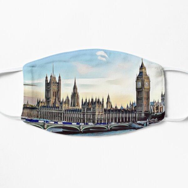 London skyline art Flat Mask