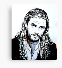 Chris Hemsworth Canvas Print
