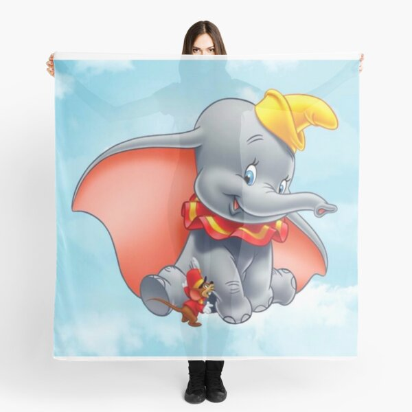 Dumbo is organizing a meeting in the air .... Scarf