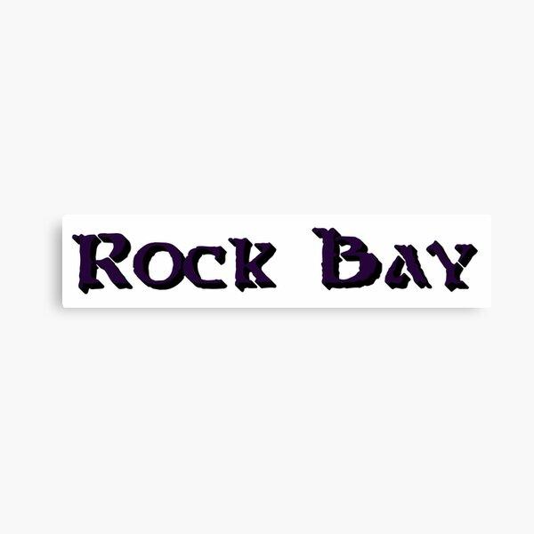 Rock Bay Canvas Print