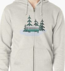 Into the Wild Zipped Hoodie