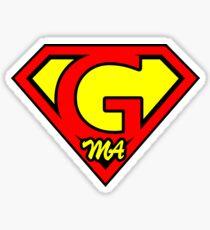 Super G Ma Sticker