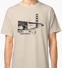 san francisco, golden gate bridge Classic T-Shirt