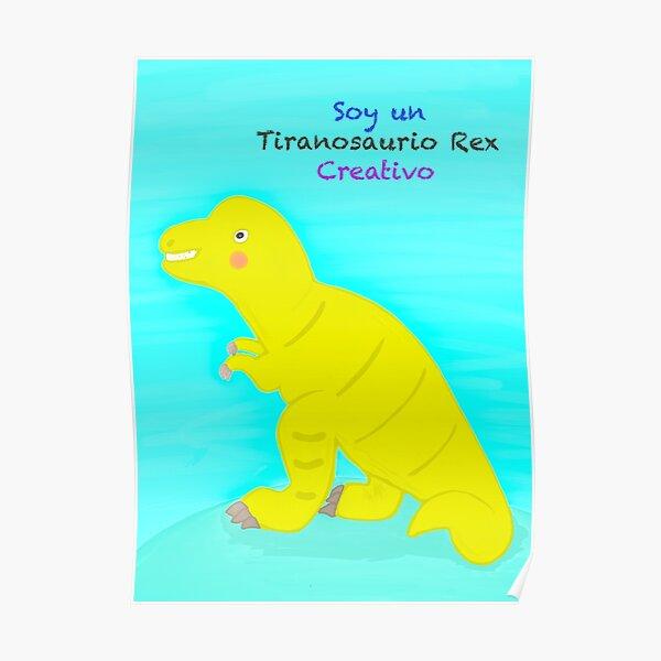 Tiranosaurio Rex Póster