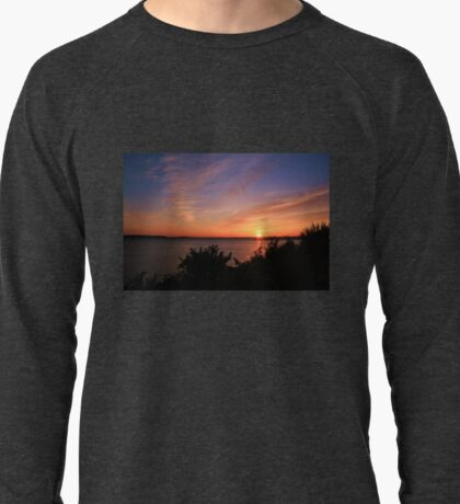 Sunset Over The Harbour Lightweight Sweatshirt