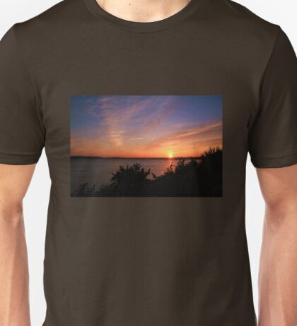 Sunset Over The Harbour T-Shirt