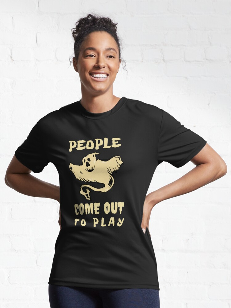 Alternate view of People come out to play Active T-Shirt