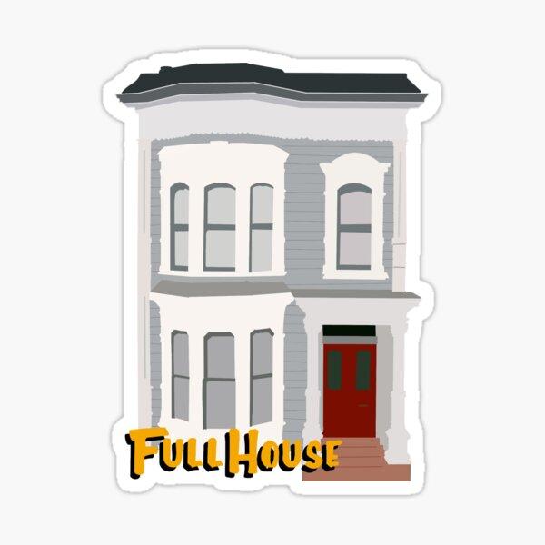 Casa llena Pegatina